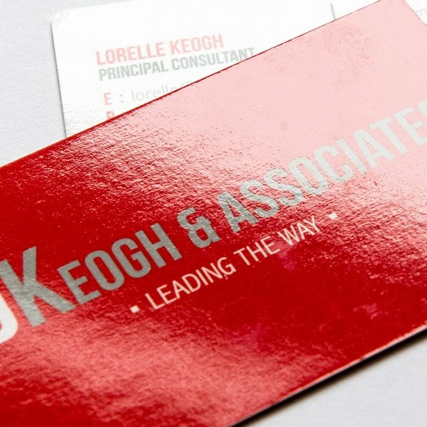 BUSINESS CARDS Printed on 450gsm LAMINATED