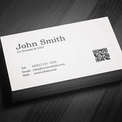 BUSINESS CARDS LOW COST 400gsm Unlaminated