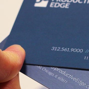 BUSINESS CARDS SOFT TOUCH 450gsm Laminated