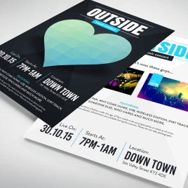 A6 LEAFLETS Luxury 170gsm
