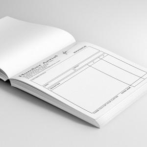 A5 Duplicate Invoice/Quote Receipt Books