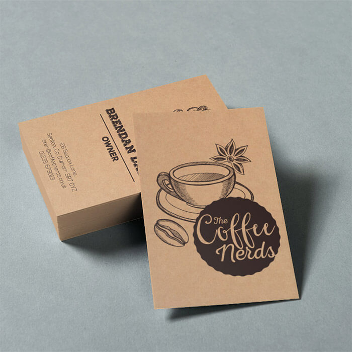 BUSINESS CARDS ECO-FRIENDLY 300gsm Recyclable
