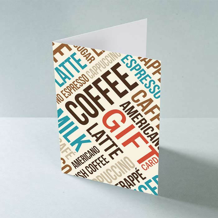 BESPOKE GREETING CARDS A5