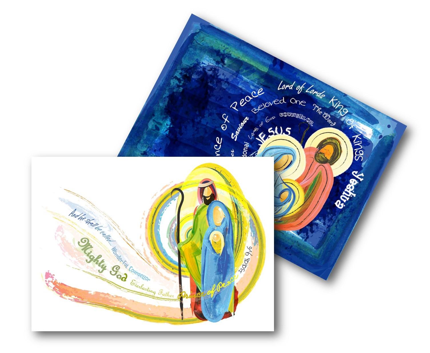 ECO CHRISTMAS CARDS PK10 - NATIVITY