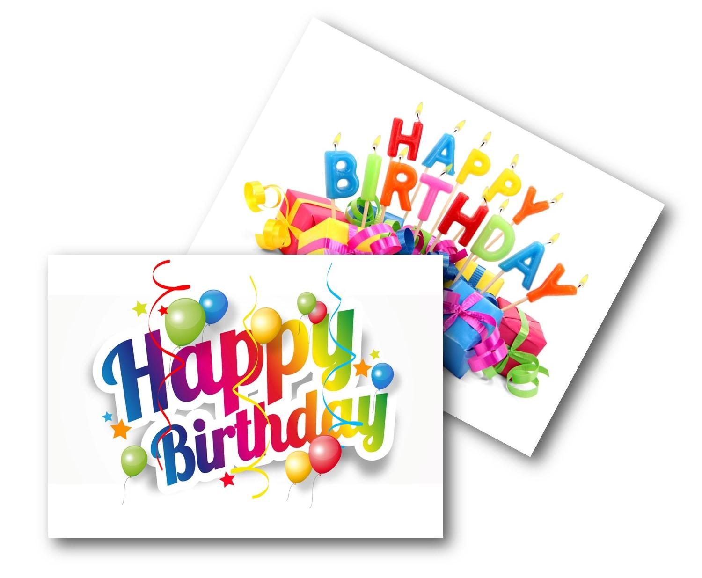 ECO BIRTHDAY CARDS PK10 - BIRTHDAY